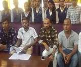फेल छात्रों को उत्तीर्ण करने के लिए करेंगे आमरण अनशन Jamshedpur news