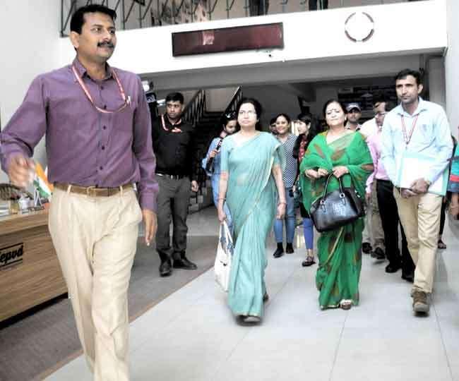 दृष्टिहीन छात्र से कुकर्म की जांच को बाल आयोग की टीम पहुंची एनआइवीईपीडी Dehradun News