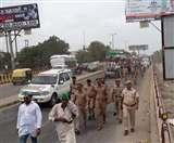 दिल्ली के लिए आगे बढ़ रही किसान-मजदूर अधिकार यात्रा, NH-9 पर लग सकता है भीषण जाम