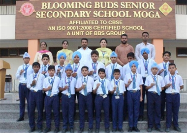 Moga The Under 14 Team Of Blooming Buds School Won The Silver Medal