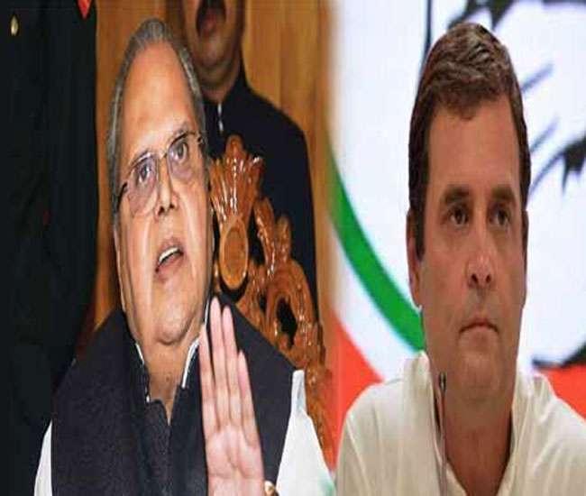 'Rahul politicising matter, responding to fake news': Governor on Gandhi's demand to visit J-K