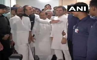 'Things not normal,' says Rahul Gandhi after being sent back from Sringar