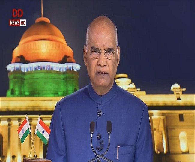 Confident that recent changes in J-K will benefit people there, says President Kovind on I-Day eve