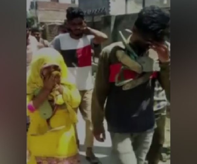 Married woman, teenage boy garlanded with shoes and paraded in Haryana's Karnal