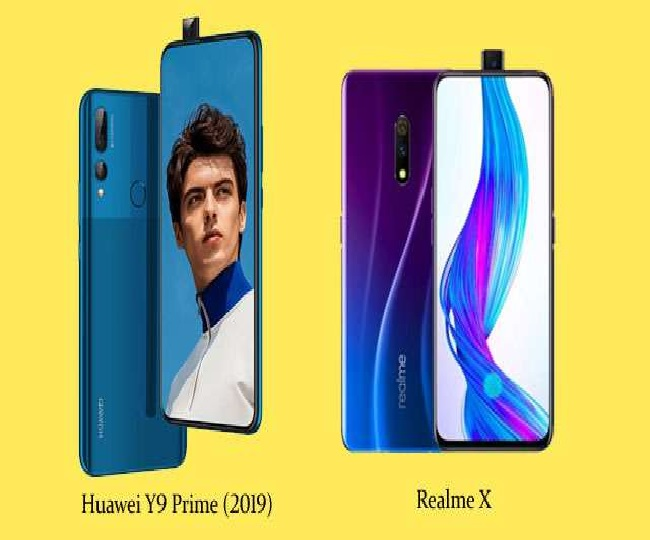 Huawei Y9 Prime vs Realme X: Which is a better choice for you