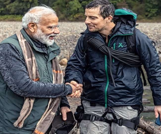 Image result for man-vs-wild-pm-modi-said-these-10-big-things-to-bear-gryll