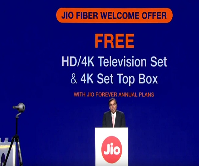 Reliance Forever Plan: This is how you can get free HD 4K TV with set-top box with 100mbps Internet speed