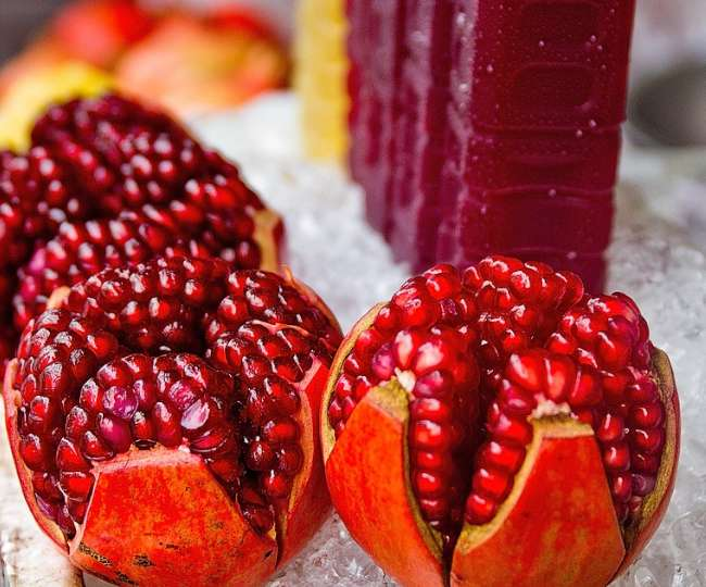 Pomegranate aids in digestion and removes dirt inside body: Study