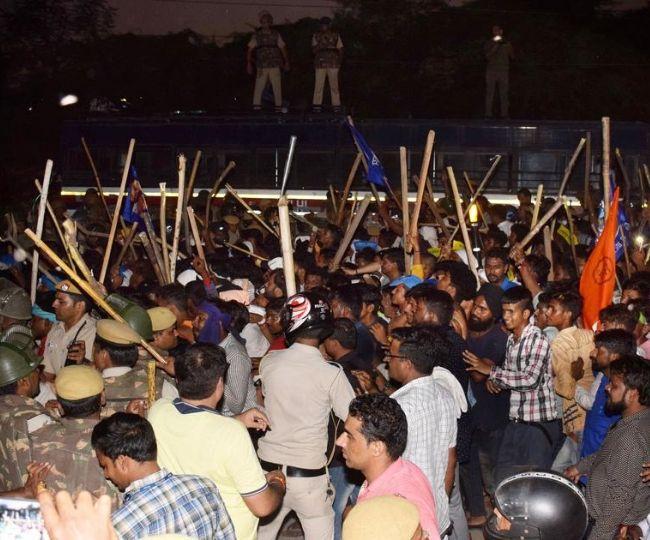 Protest against Ravidas temple demolition: Several Private schools, daycare in southeast Delhi closed