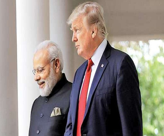 Image result for President Trump likely to hear from PM <a class='inner-topic-link' href='/search/topic?searchType=search&searchTerm=MODI' target='_blank' title='click here to read more about MODI'></div>modi</a> about plans for human rights in Kashmir