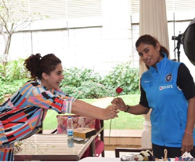 After 'Shooter Dadi' in Saand Ki Aankh, Taapsee Pannu all set to feature in Mithali Raj's biopic 'Shabaash Mithu'