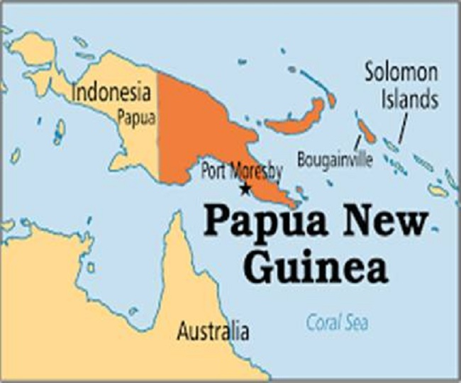 Bougainville supports its independence from Papua New Guinea
