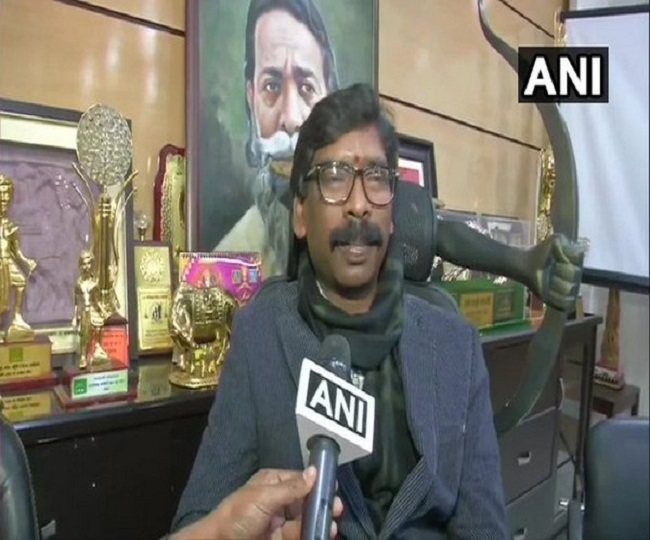 Jharkhand Govt Formation | In a major show of strength, Hemant Soren to take oath as Chief Minister in Ranchi today