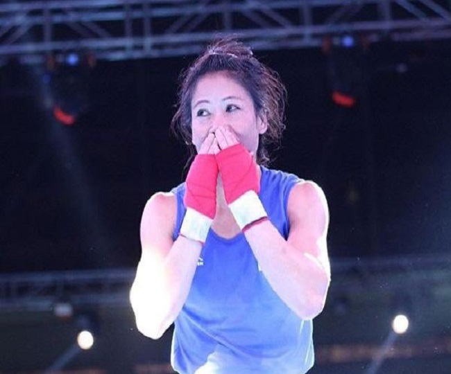 Mary Kom beats Nikhat Zareen by 9-1, books spot for 2020 Olympic qualifiers