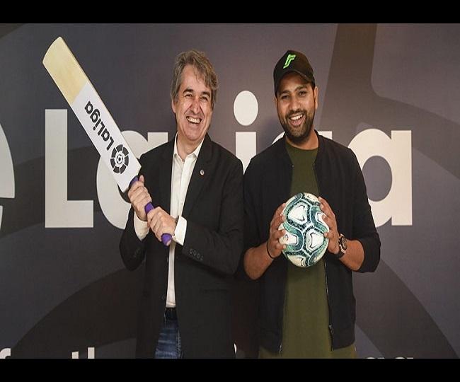 Rohit Sharma appointed as La Liga's first India brand ambassador