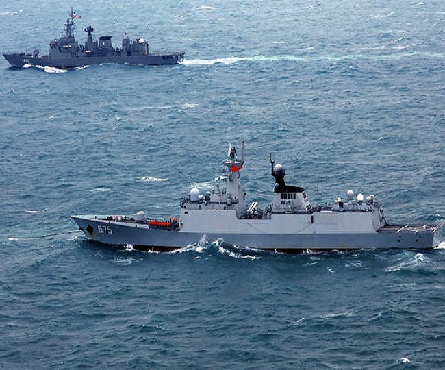 Navy drives away Chinese vessel from Indian waters, says 'permission required to work in our EEZ'