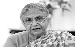 Sheila Dikshit's demise: Former Delhi CM cremated with full state honours