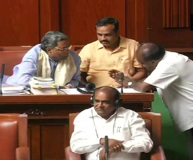 Karnataka Floor Test: Speaker adjourns House, debate on trust vote to continue on Friday