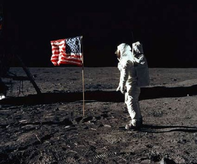 Conspiracy theories continue to cast shadow on first Moon Landing