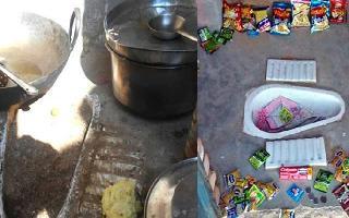 In Madhya Pradesh Anganwadi, toilet turns into mid-day meal kitchen