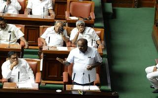 Karnataka drama continues; Assembly adjourned, Speaker says trust vote by 6 pm today