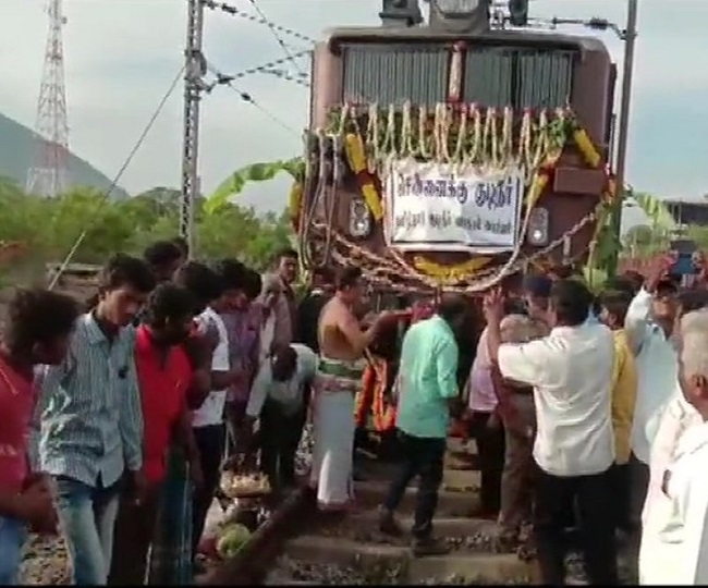 Chennai Water Crisis: Train carrying 50,000 litres of water reaches drought-hit metropolitan