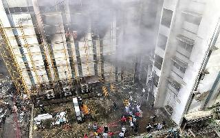 Mumbai Building Fire: 84 people rescued from MTNL building terrace