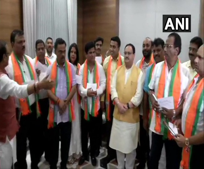 Goa: 10 Congress MLAs formally join BJP, cabinet reshuffle soon