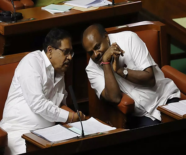 No Karnataka trust vote today as Speaker adjourns House till Friday, coalition's fate hangs by a thread