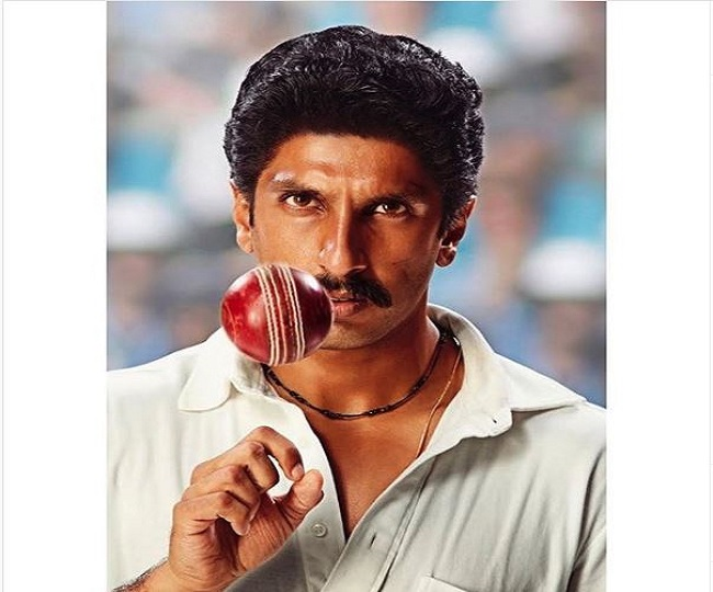 Ranveer Singh presents his first look for fans as Kapil Dev from 83