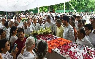 Sheila Dikshit laid to rest with full state honours, hundreds pay last respects to Delhi's longest-serving CM