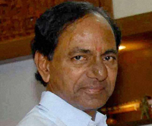 Setback for Congress as 12 party MLAs join TRS, seek merger