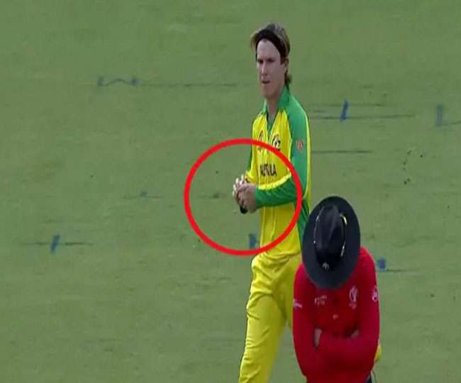 WC 2019 | Ind vs Aus: Finch defends Zampa over Ball-Tampering claims, says he uses 'Hand Warmers'