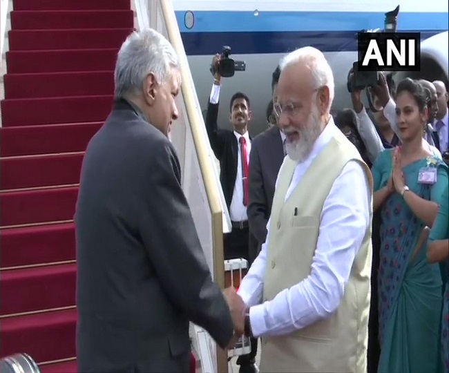 PM Modi concludes first foreign visit to Maldives, terror-hit Sri Lanka