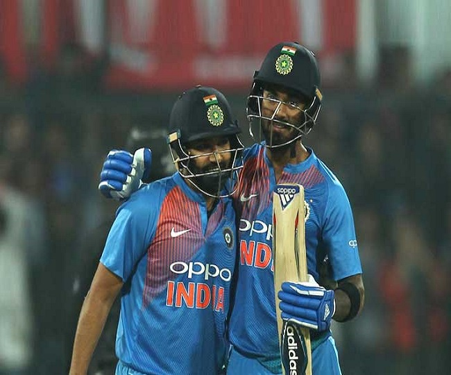 Rohit, Rahul bring first 100-run opening partnership for India against Pakistan in World Cup