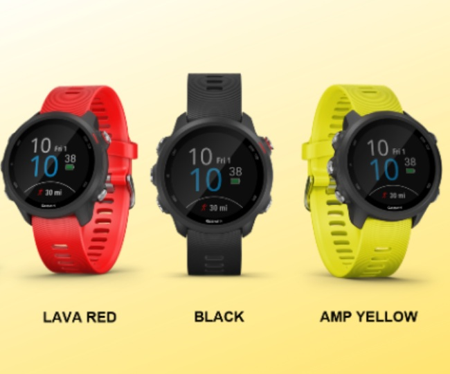 Garmin Forerunner 245, Forerunner 245 Music smartwatches launched in India