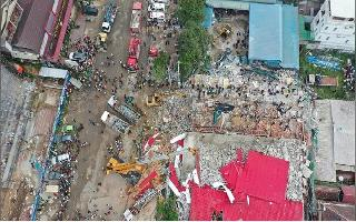Death toll rises to 24 in building collapse in Cambodia