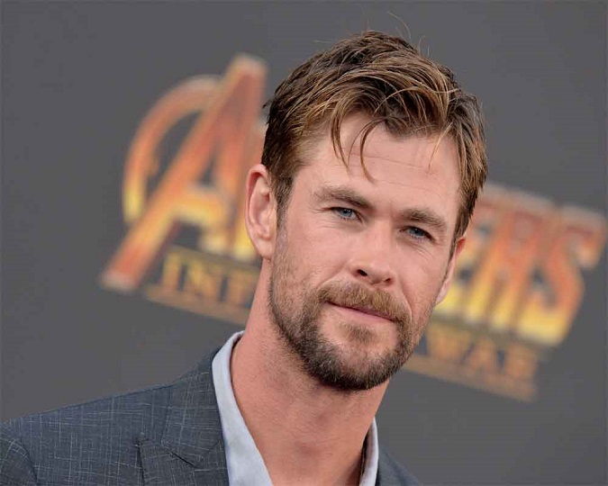 Finally I can pause and enjoy the moment, says Chris Hemsworth