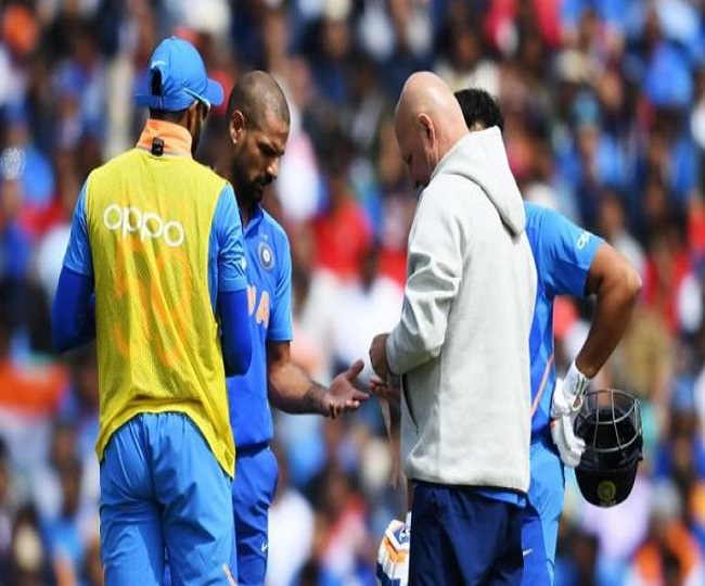 WC 2019 | 'Injured' Shikhar Dhawan races against time as he hits gym | Watch Video