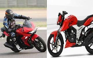 Hero Xtreme 200S vs TVS Apache RTR 160 4V: Find out which one is better