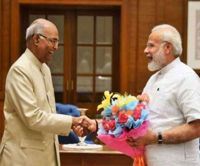2019 LS Election results: NDA elects Modi as its leader at Parliamentary meeting
