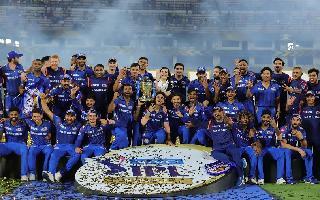 Rohit wins 4th IPL trophy for Mumbai