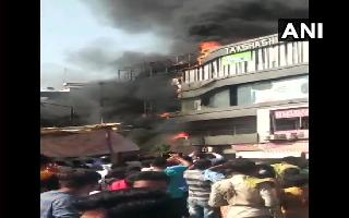 Fire breaks out in Surat's coaching centre: 20 killed, several injured