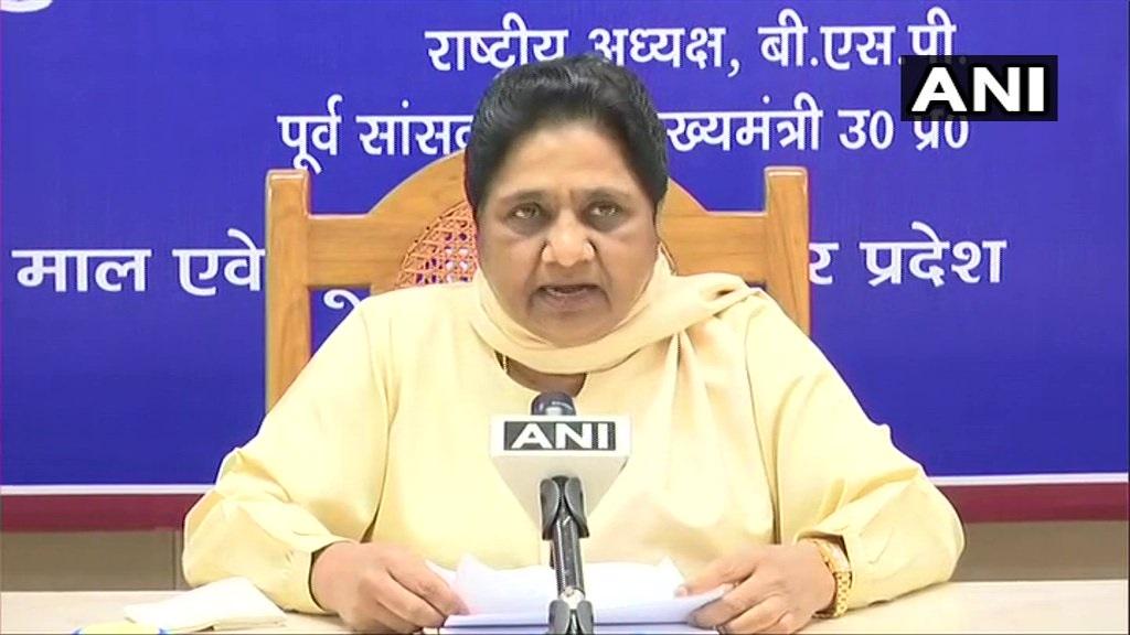 2019 Lok Sabha Elections: Mayawati supports Mamata, says EC acting under pressure
