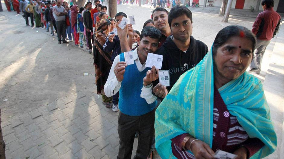 Election 2019: 50.74% turnout recorded till 4 pm
