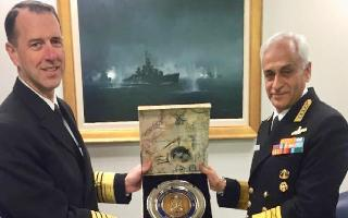 US Navy chief to visit India on 3-day visit from Sunday