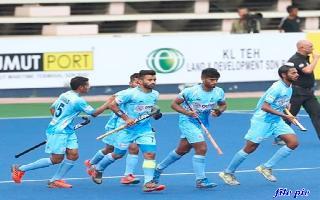 Indian men's team registers comfortable 3-0 win against Australia A in..