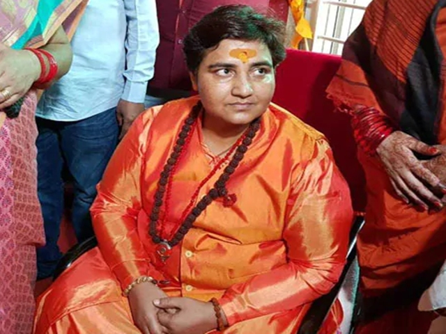 Congress seeks Modi's apology over Pragya Thakur's remark on Godse