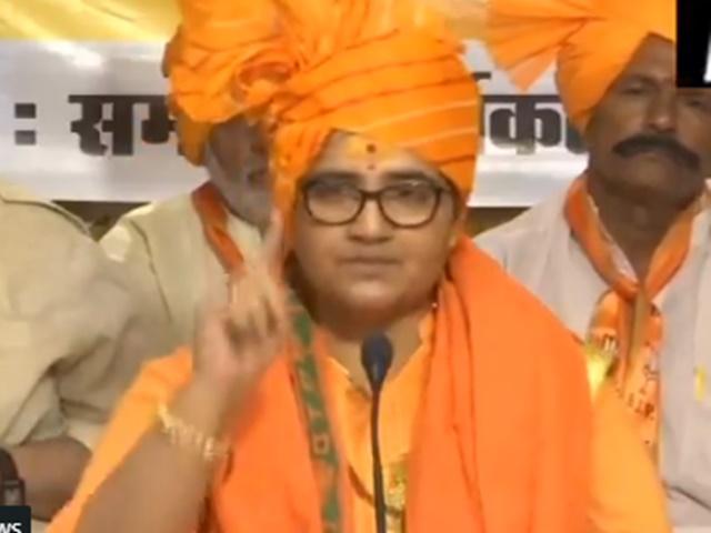 Pragya Thakur apologies and withdraws her statement calling Godse 'Patriot'
