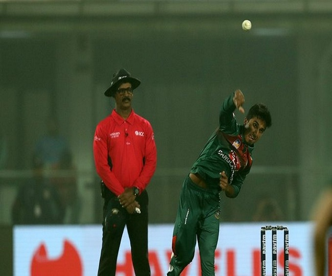 India vs Bangladesh 1st T20: Afif takes a blinder to remove Shivam Dube | Watch